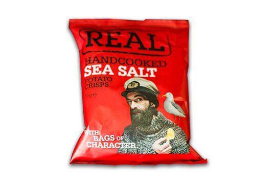 Kettle or real crisps 35gr